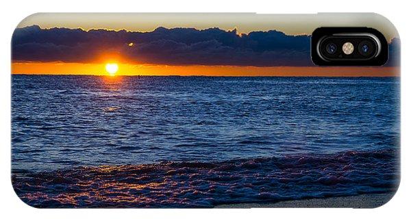 Sunrise Lake Michigan September 14th 2013 016 IPhone Case