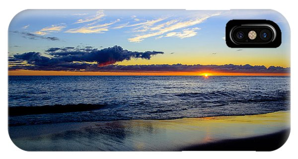 Sunrise Lake Michigan September 14th 2013 017 IPhone Case