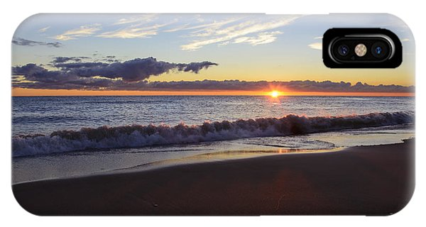 Sunrise Lake Michigan September 14th 2013 018 IPhone Case