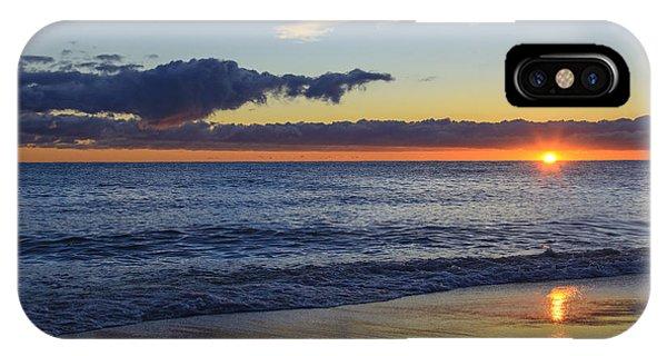 Sunrise Lake Michigan September 14th 2013 019 IPhone Case