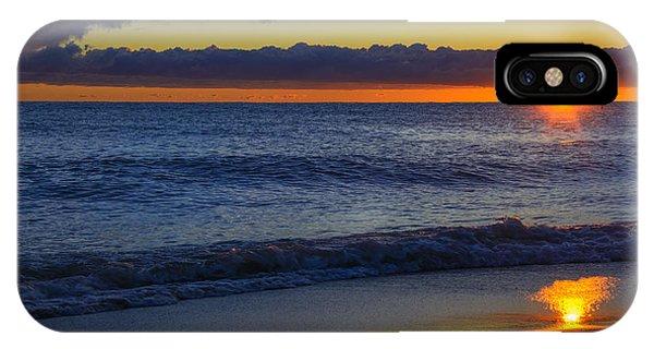 Sunrise Lake Michigan September 14th 2013 020 IPhone Case