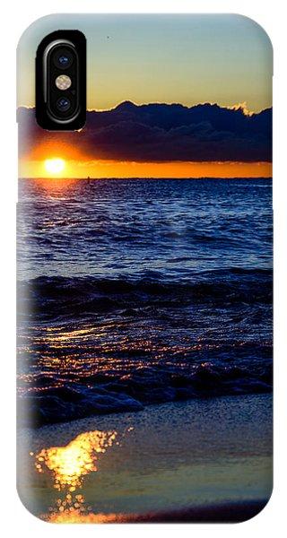 Sunrise Lake Michigan September 14th 2013 021 IPhone Case