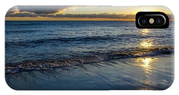 Sunrise Lake Michigan September 14th 2013 023 IPhone Case
