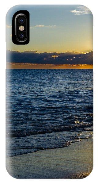 Sunrise Lake Michigan September 14th 2013 024 IPhone Case