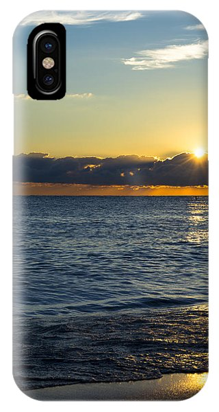 Sunrise Lake Michigan September 14th 2013 025 IPhone Case
