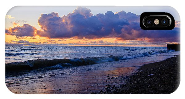 Sunrise Lake Michigan September 2nd 2013 001 IPhone Case