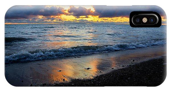 Sunrise Lake Michigan September 2nd 2013 002 IPhone Case