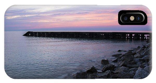 Sunrise Lake Michigan September 7th 2013 002 IPhone Case
