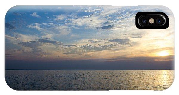 Sunrise Lake Michigan September 7th 2013 003 IPhone Case