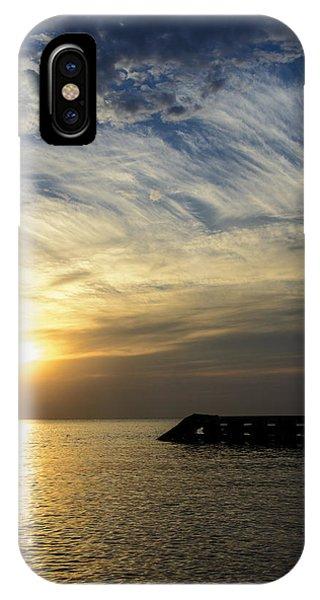 Sunrise Lake Michigan September 7th 2013 004 IPhone Case