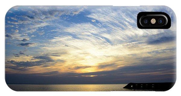 Sunrise Lake Michigan September 7th 2013 005 IPhone Case