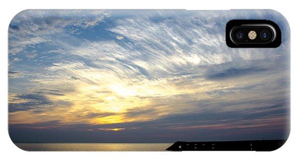 Sunrise Lake Michigan September 7th 2013 008 IPhone Case