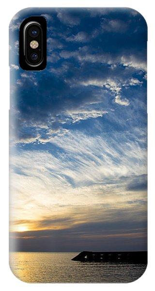 Sunrise Lake Michigan September 7th 2013 009 IPhone Case