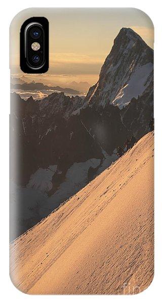 Sunrise Massif Du Mt Blanc Phone Case by Soren Egeberg