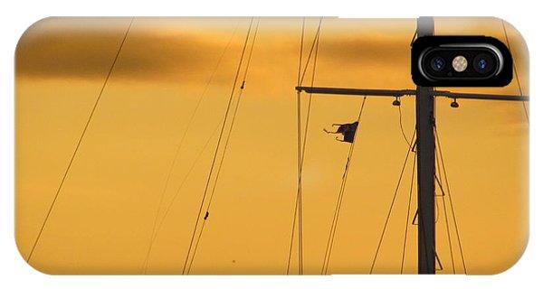 Sunrise Mast Cables IPhone Case