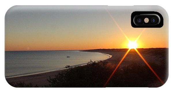 Sunrise Near Broome  Australia IPhone Case
