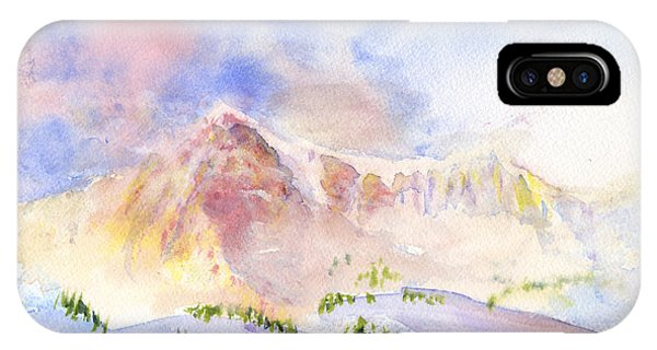 Sunrise On Mount Ogden IPhone Case