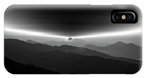 Layer iPhone Case - Sunrise On The Anapurna by Yvette Depaepe