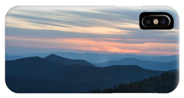 Sunrise On The Blue Ridge IPhone Case