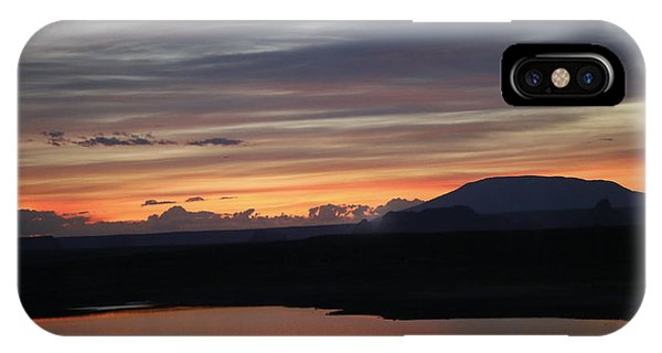 Sunrise On The Lake IPhone Case