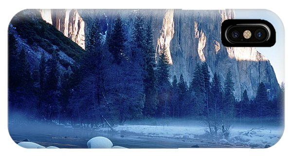 Sunrise On El Capitan Yosemite National Park IPhone Case