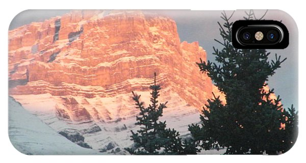 Sunrise On The Mountain IPhone Case