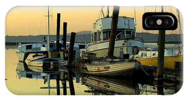 Sunrise On The Petaluma River IPhone Case