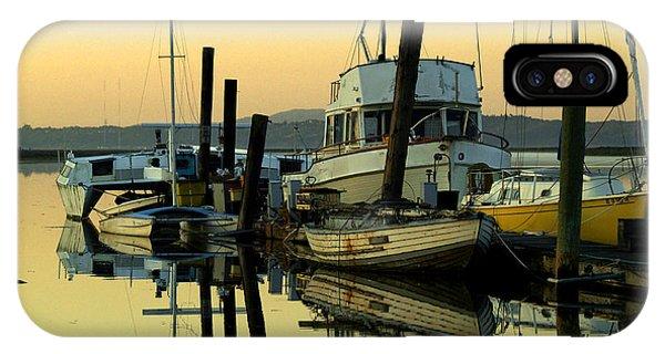 Sunrise On The Petaluma River IPhone Case