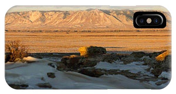 Sunrise On The Plains IPhone Case