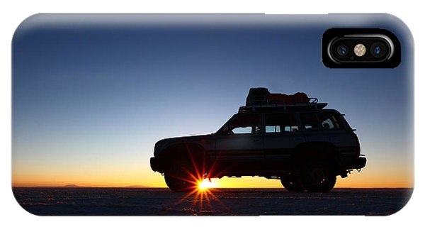 Sunrise On The Salar De Uyuni IPhone Case
