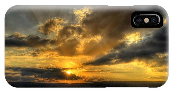 Sunrise On The Sea Of Galilee IPhone Case