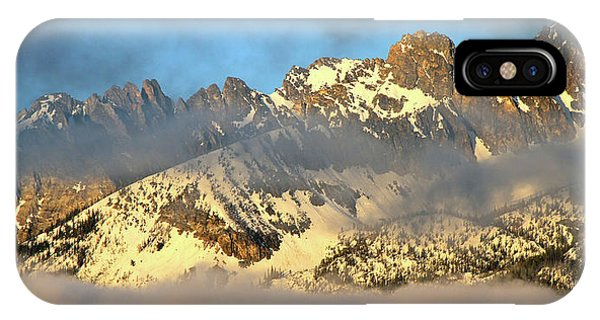 Sunrise On Thompson Peak IPhone Case
