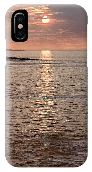 Sunrise Otter Cliffs Phone Case by Peter J Sucy