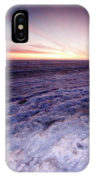 Sunrise Over A Frozen Beaufort Sea IPhone Case
