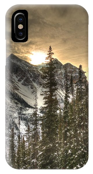 Sunrise Over A Mountain Ridge IPhone Case