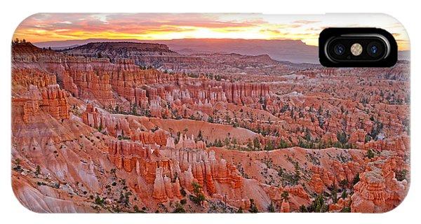 Sunrise Over Bryce Amphetheater IPhone Case