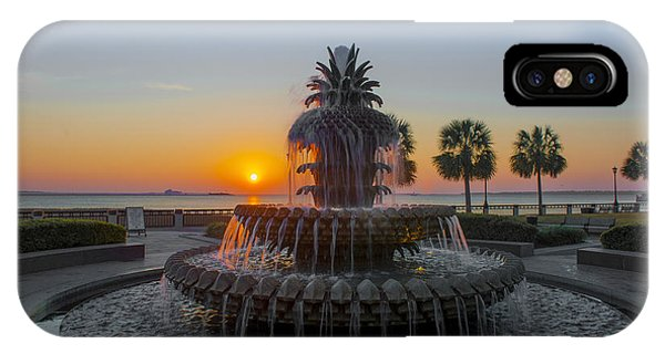Sunrise Over Charleston IPhone Case