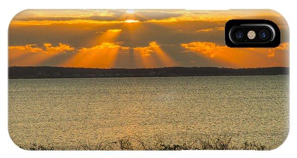 Sunrise Over Fairhaven IPhone Case