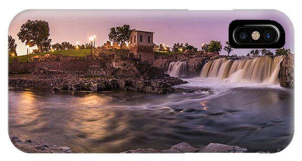 Sunrise Over Falls Park IPhone Case