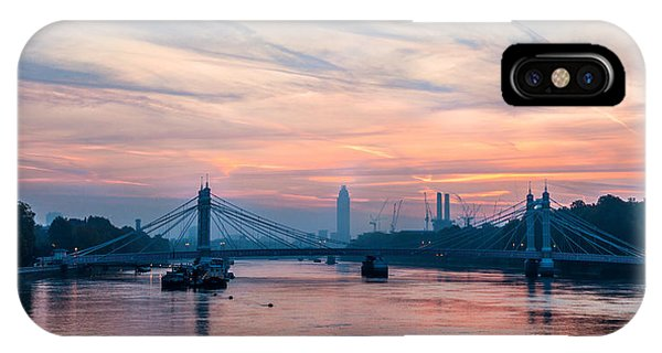Sunrise Over London IPhone Case