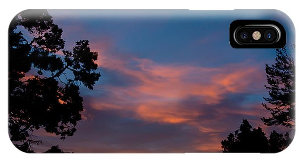 Sunrise Over Mammoth Campground IPhone Case