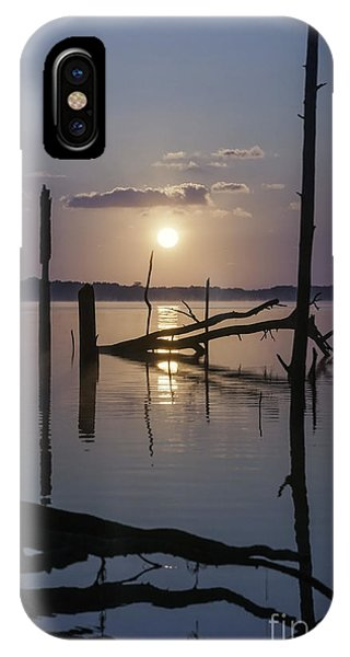 Sunrise Over Manasquan Reservoir IPhone Case