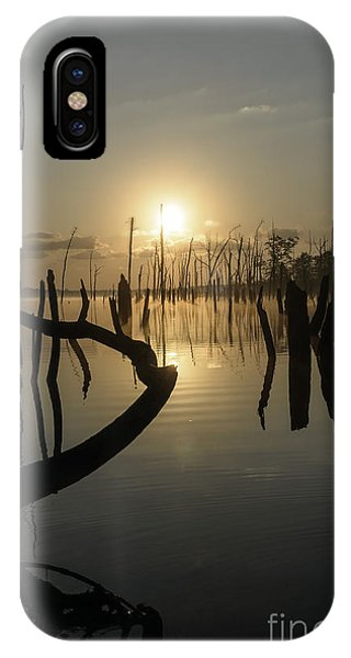 Sunrise Over Manasquan Reservoir II IPhone Case