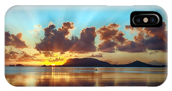 Sunrise Over Marine Corps Base Hawaii IPhone Case
