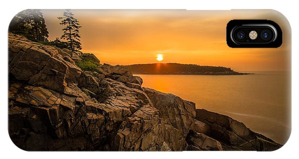 Sunrise Over Otter Cove IPhone Case
