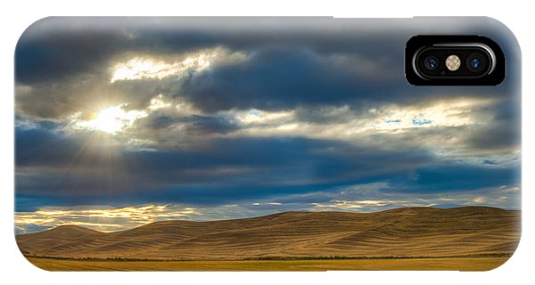 Sunrise Over Palouse Road IPhone Case