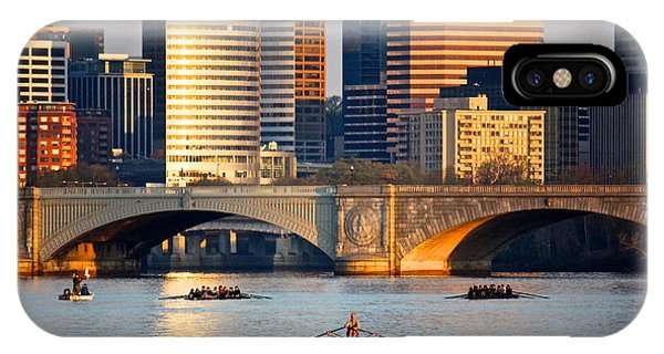 Sunrise Over Rosslyn IPhone Case
