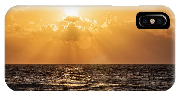 Sunrise Over The Caribbean Sea IPhone Case