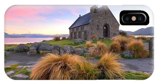 Sunrise Over The Church Of The Good Sheperd IPhone Case