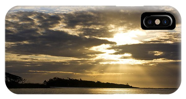 Sunrise Over The Estuary IPhone Case